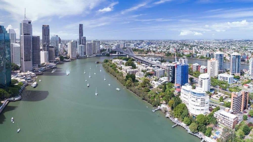 Brisbane city is another choice for international students
