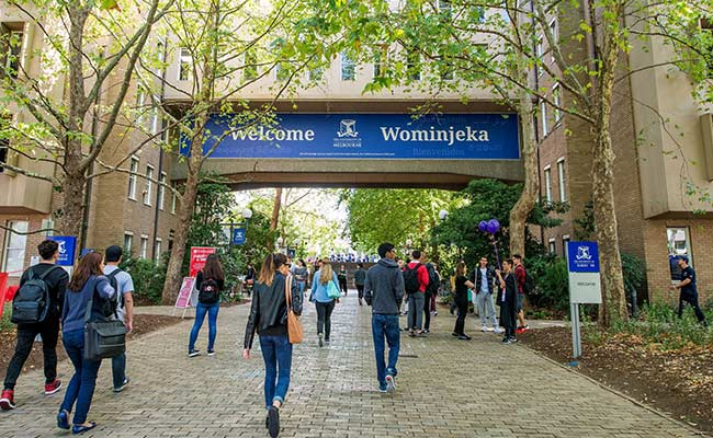 International Students at University of Melbourne